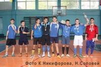 Турнир по мини-футболу среди студентов