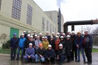 Дружественный визит профсоюзных активистов