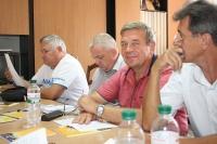 Заседание комиссии Криворожского горкома ПМГУ  2.08.2017