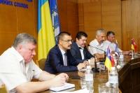 Продолжается визит делегации МЕФМ в Запорожье